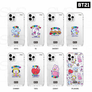 BTS BT21 Official Goods Jelly Candy Phone Case Baby Ver By Elago +Tracking Num
