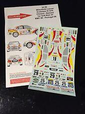 DECALS 1/24 MITSUBISHI LANCER CLIMENT RALLYE RAC 1997 WRC RALLY HASEGAWA