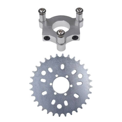 32T Sprocket With CNC Adapter Fit 415 Chain 66cc 80cc 2 Stroke Motorized Bike
