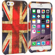 For Apple iPhone 6 (4.7) Hard Design Protective Case Cover UK Union Flag