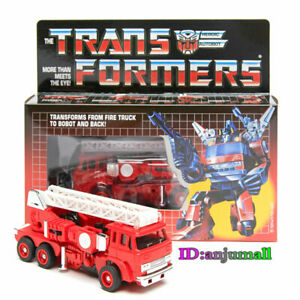 New arrivial TRANSFORMERS G1 Reissue Inferno Gift Kids Toy Action Brand new