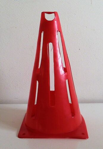 "10 x 9"" Safety Collapsible Sports Marker Cones Flexible Marking Pop Up Cones"