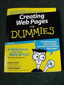 CREATING-WEB-PAGES-FOR-DUMMIES-7th-EDITION-CD-ROM-Arthur-Bebak-Bud-E-Smith