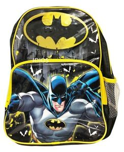 Clothing, Shoes & Accessories Batman Backpack Dc Comics School Preschool Daycare Bag Boys Super Heros New Kids' Clothing, Shoes & Accs