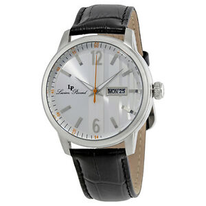 Lucien-Piccard-Milanese-Date-Day-Mens-Watch-40027-02S