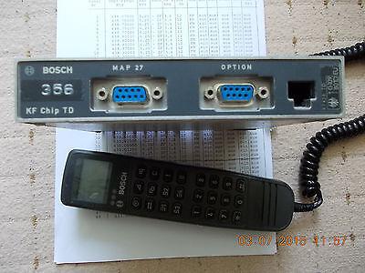 + Bosch 70cm Mobilfunkgerät Kf Chip Td Mit Afu + Verbraucher Zuerst