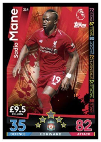 Match Attax 2018//19 18//19 Liverpool