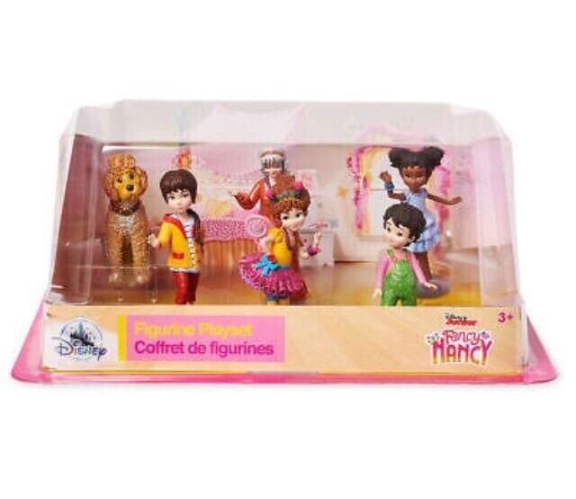 BNIB Fancy Nancy Pack Of 6 figurines