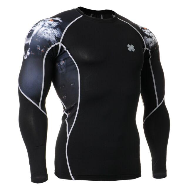 FIXGEAR C2L-B18 Compression Base Layer Shirt Sportswear for MMA Workout Gym