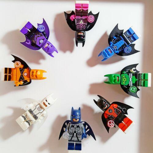 DC Superhero Custom Minifigs Green Lantern Rare Collectable Batman Lego Movie