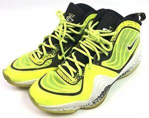 finest selection d45a7 52104 Image is loading Nike-Air-Penny-V-5-HL-Volt-Black-