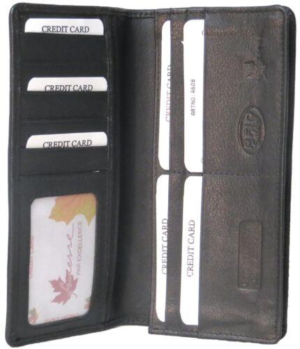 Genuine Cowhide Leather Breast Coat RFID Card Wallet # 4608R USD