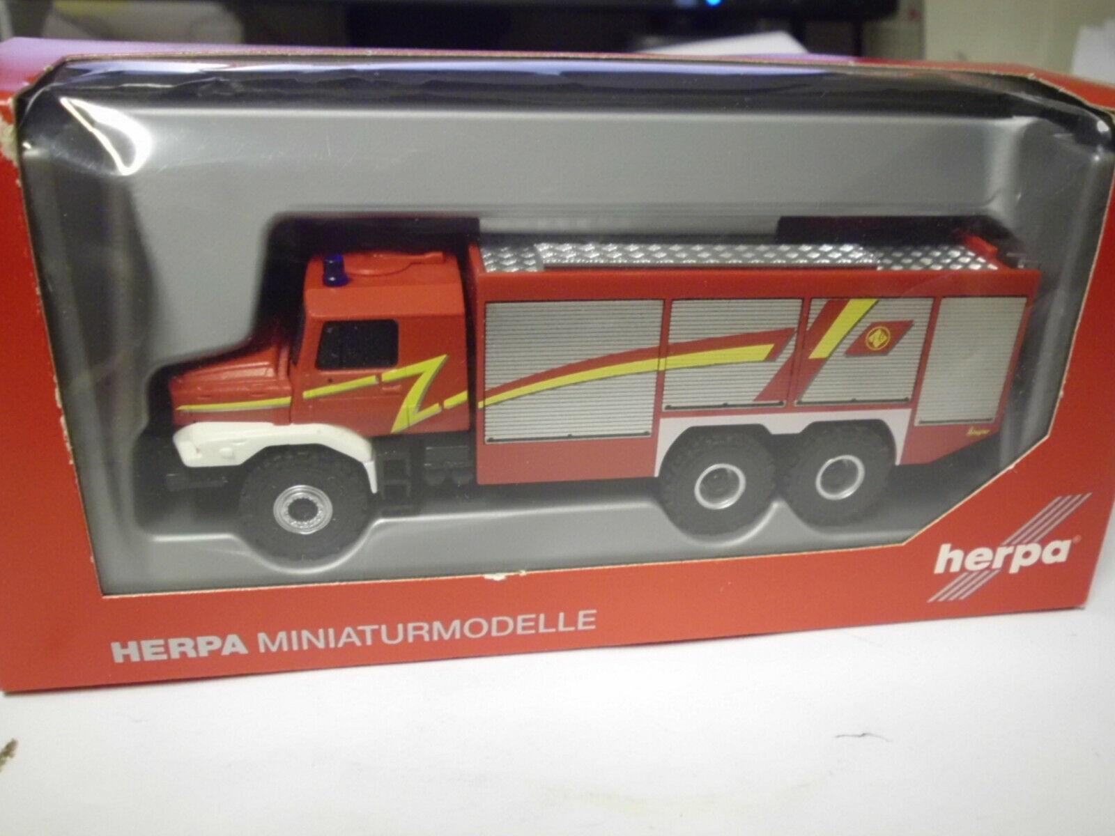 Herpa 049993 Feuerwehr TLF MB Zetros 6x6 Ziegler in OVP