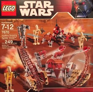 Lego - Star Wars 7670 Hailfire Droid & Spider ('08) Neu