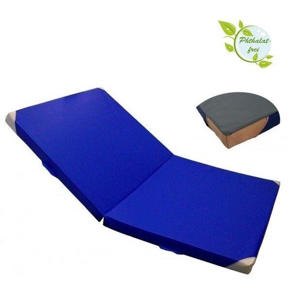 Pliantes gymnastique 200 x 125 x 8 cm doux tapis sol Antidérapant sol coins cuir