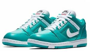 Details about Supreme x Nike SB Air Force 2 Low 'Teal' New EmeraldWhite Size 11.5 NWT