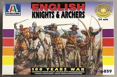 Italeri 1//32 British Light Cavalry 1815 Napoleonic 6885 figure kit w//Box 112677
