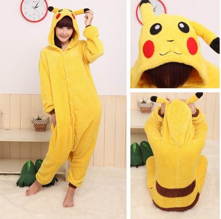Pyjama pikachu pokmon - pyjama zu kigurumi anime manga   kostm cosplay.