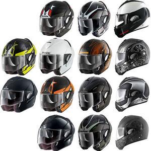 05dcc8957afd44 Shark Evoline Series 3 Flip Up Open Moto Motorcycle Helmet   All ...