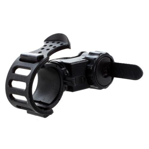 Support Flashlight Lamp Light flashlight holder Color Black Bike Handlebar J4A7