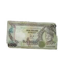 Old Malaysian notes rm20