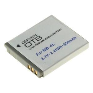 OTB-Accu-Batterij-Canon-IXUS-230-HS-650mAh-Akku-Battery