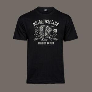 T-Shirt-Apache-Motorcycle-Club-Bobber-Chopper-Biker-Kustom-Motor-black-S-5XL