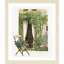 Linen Lanarte Counted Cross Stitch Kit Our Garden View