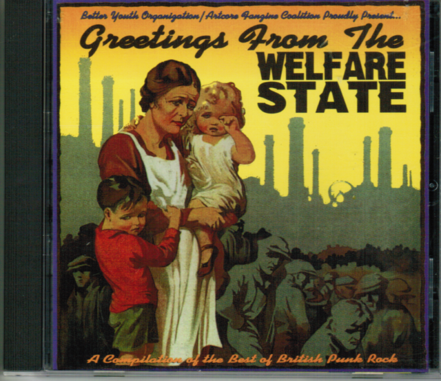 CD - GREETINGS FROM THE WELFARE STATE von Various  #D82#