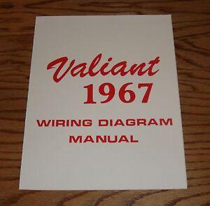 1967 Plymouth Valiant Wiring Diagram Manual 67 | eBay