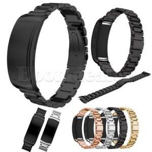 Metall-Stainless-Bracelet-Armband-Strap-Werkzeug-fuer-Samsung-Gear-Fit-2-SM-R360