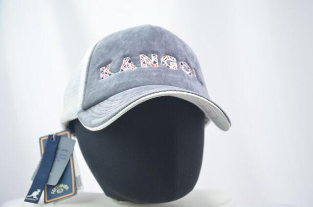 Kangol Trucker Mesh Baseball Hat Cap GRAY M00974 ONE SIZE S M SNAPBACK NEW  NWT 41b1bd8e5a0d
