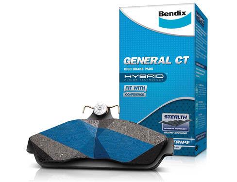 DB1045GCT 1 set x Bendix General CT Brake Pad