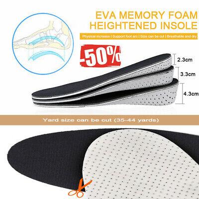 Breath Shoe Insole Air Cushion Heel insert Increase Taller Height Lift