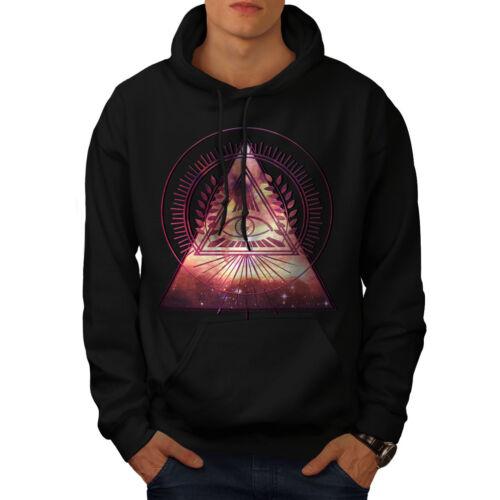 Mystic Casual Hooded Sweatshirt Wellcoda  Mens Hoodie