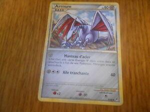 Carte-Pokemon-Rare-Airmure-80-PV-31-95-L-039-appel-des-legendes