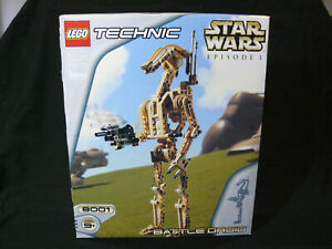 LEGO-Star-Wars-8001-Battle-Droid-2000-100-complete-Excellent-condition