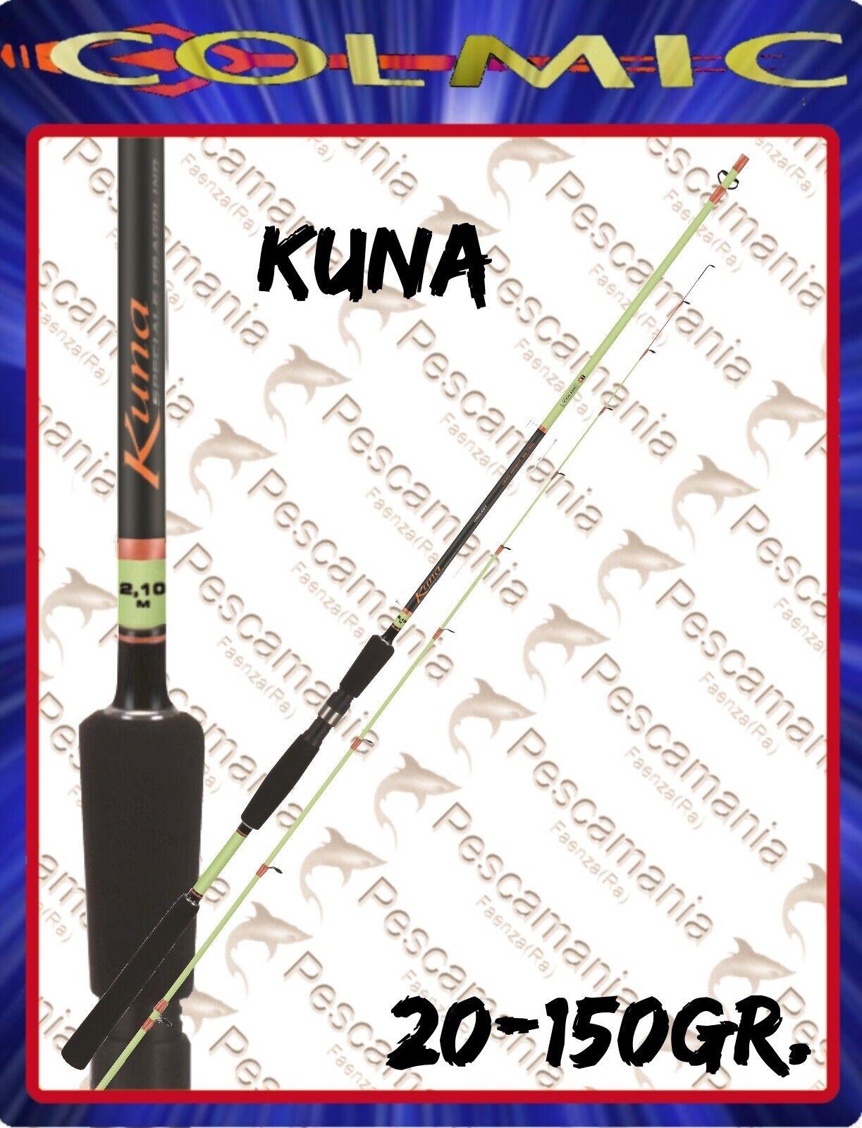 Canna colmic Kuna special bolentino medio leggero casting 20-150 gr mt.1.8-2,7