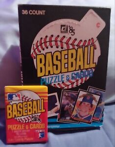 1-UNOPENED-Wax-Pack-of-1985-Donruss-Baseball-cards-from-Fresh-Box-34years-Old