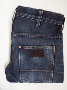 Homme Spencer L31 fonc Slim Bleu W32 Fit Wrangler Jeans Stretch FvdABwAgq