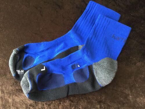 Da Uomo Royal Blu di alta qualità Karrimor Pro in esecuzione Alla Caviglia Calze XL 11//14UK 46//49