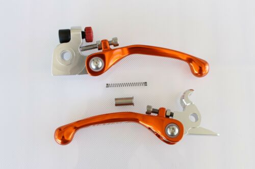 AIRTIME FORGED CNC BRAKE /& CLUTCH LEVER SET FOR 2013 KTM 450SXF 450XCF OR88