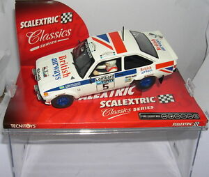 "Scalextric 6369 Ford Escort Mkii ""british Airways"" B.waldegard-h.thorszelius Artisanat D'Art"