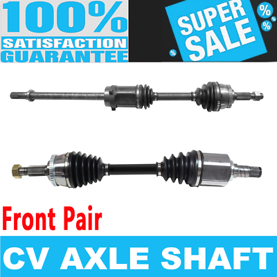 FRONT LEFT /& RIGHT CV Axle Shaft For N MAXIMA 95-99 Automatic Transmission