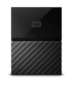 WD 1TB Black My Passport Portable External Hard Drive WDBYNN0010B... USB 3.0
