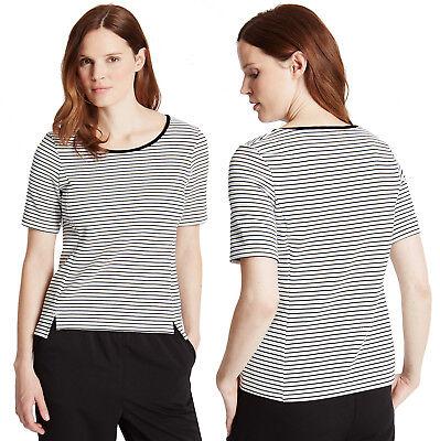 Ladies M/&S Woman Size 8 Short Sleeve Top T Shirt