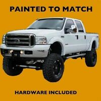 Ford F250/f350 2005 2006 Truck Fender Flares Painted To Match - Bolt Style
