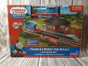 Thomas & Friends Trackmaster Motorized Railway Starter Kit Fisher Price 2011 New