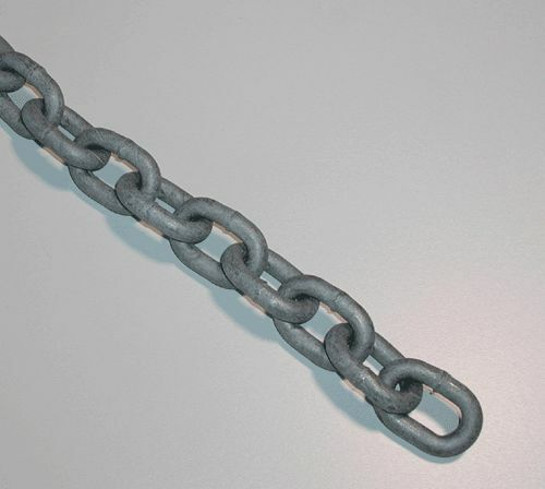 "10 ft STAINLESS STEEL ANCHOR CHAIN 316L 1//4/"" DIN 766 BBB Repl Suncor S0601-0007"