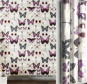 Next-Paste-The-Wall-Photographic-Butterfly-Wallpaper-Matching-Blanket-Or-Cushion